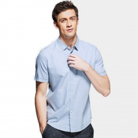 Kuegou Pocket Blue Shirt (HC-8707)