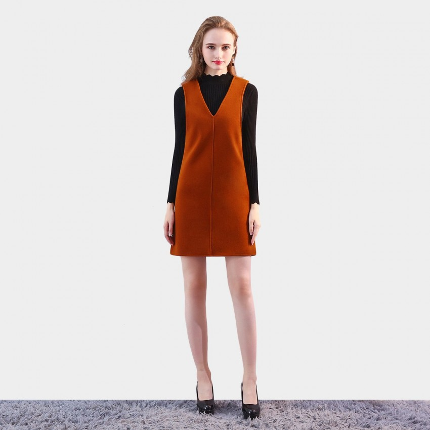 Buy SSXR Classic Wonder Camel Dress online, shop SSXR with free shipping