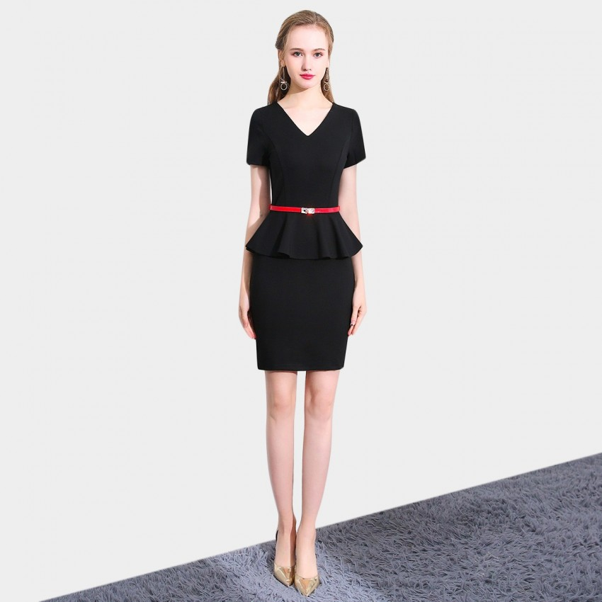 Buy SSXR Timeless Touch Black Dress online, shop SSXR with free shipping