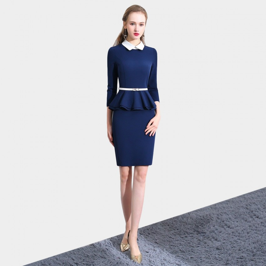Buy SSXR Noble Cherished Navy Dress online, shop SSXR with free shipping