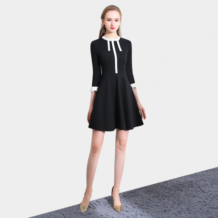 Buy SSXR Youth Vigor Black Dress online, shop SSXR with free shipping