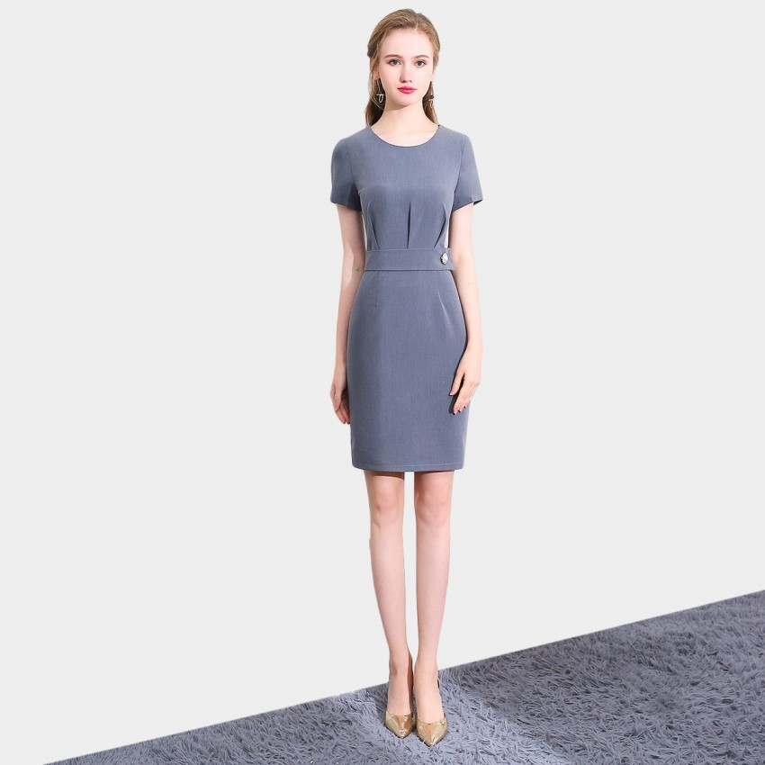 Buy SSXR Authentic Style Grey Dress online, shop SSXR with free shipping