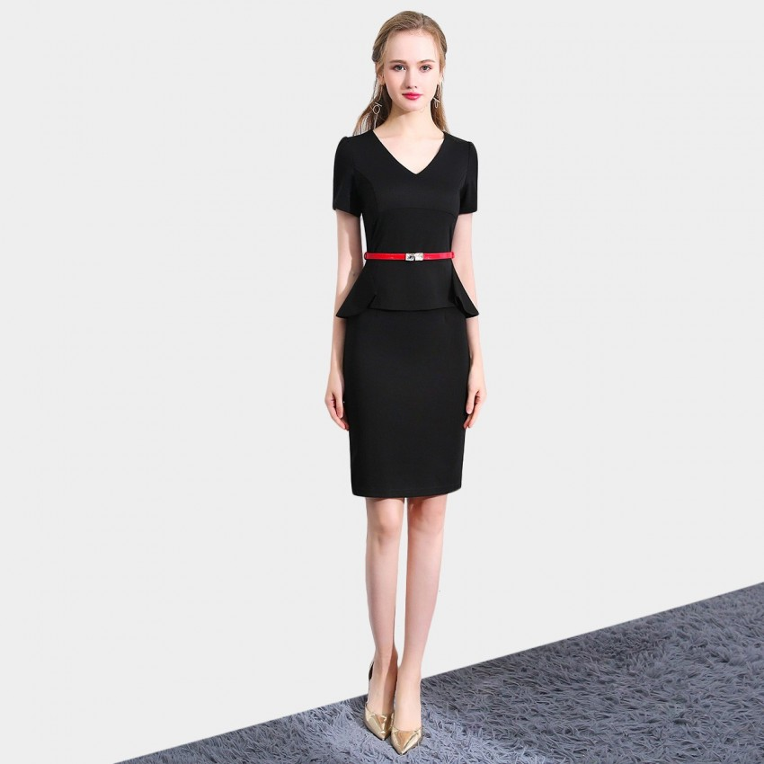 Buy SSXR Generic Polished Black Dress online, shop SSXR with free shipping