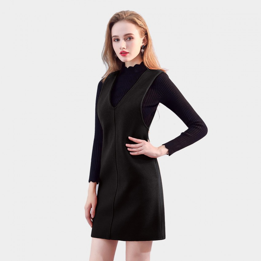 Buy SSXR Classic Wonder Black Dress online, shop SSXR with free shipping