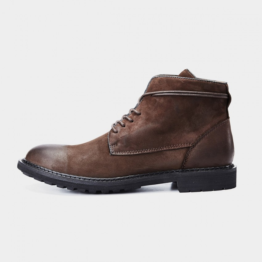 Herilios Simplicity Vintage Ankle Brown Boots (H7305G36)