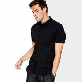 Kuegou Gentleman Black Shirt (RC-2811)