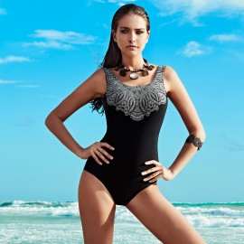 Balneaire Backless Black One Piece (60814)