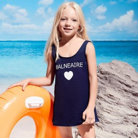 Balneaire Heart Navy One Piece (260050)