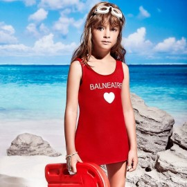 Balneaire Heart Red One Piece (260050)