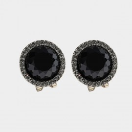 Caromay Rage Black Earrings (E3429)
