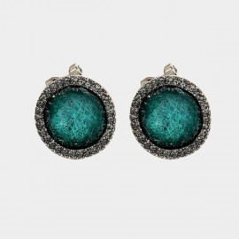 Caromay Rage Green Earrings (E3429)