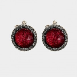 Caromay Rage Red Earrings (E3429)
