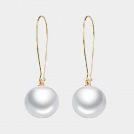 Caromay Mary Champagne-Gold Earrings (E3573-1)