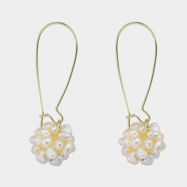 Caromay Mary Champagne-Gold Earrings (E3573-2)