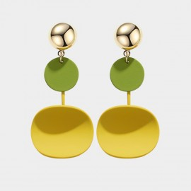 Caromay Fun Life Yellow Earrings (E4174)
