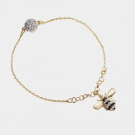 Caromay Flying Bee Gold Bracelet (H0455)