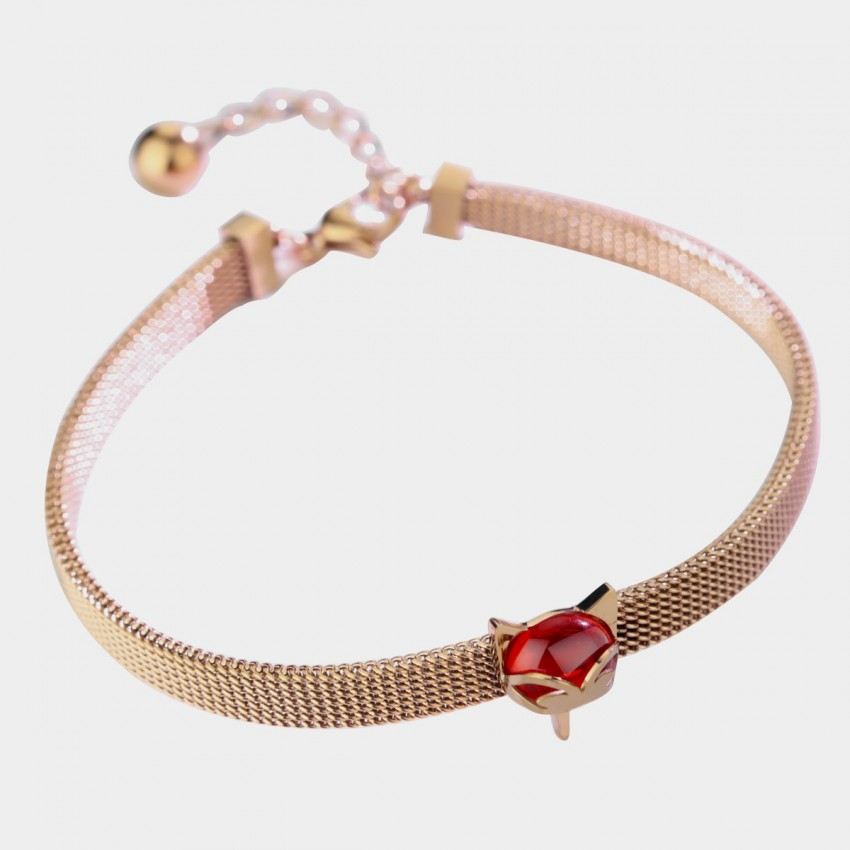 Caromay Mimi Fox Rose-Gold Bracelet (H0471)