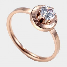Caromay Remember Rose-Gold Ring (J0329)