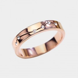 Caromay Polaris Rose-Gold Ring (J0417)