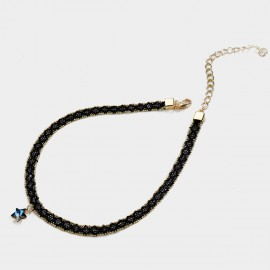 Caromay Astral Blue Choker Necklace (X1644-2)