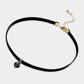 Caromay Dark Land Gold Choker Necklace (X1840)