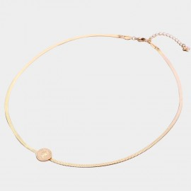 Caromay The Queen Rose-Gold Necklace (X2281)