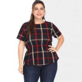 Amtivaya Check Black Top (HY3044)