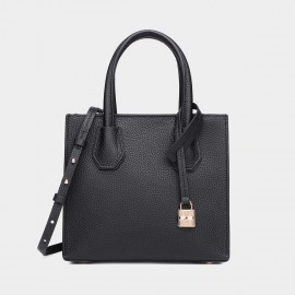 Cilela Clean-Lined Black Tote (1618S)