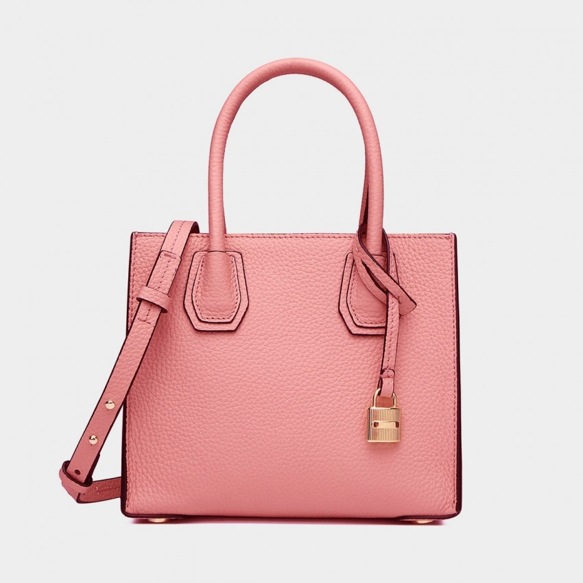 Cilela Clean-Lined Pink Tote (1618S)