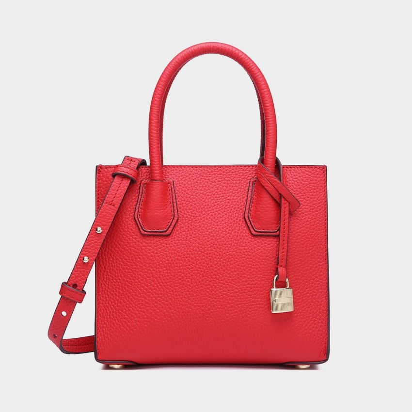 Cilela Clean-Lined Red Tote (1618S)
