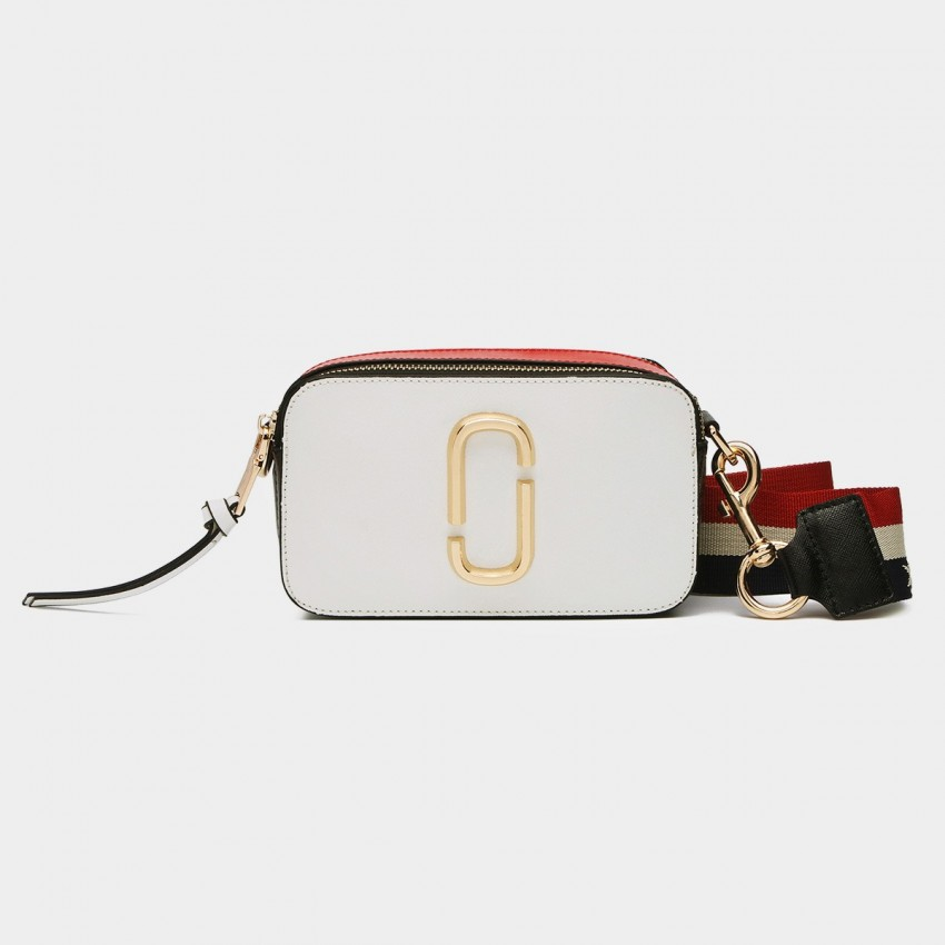 Cilela Gold Loop White Shoulder Bag (6289S)