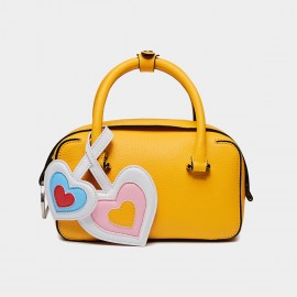Cilela Double-Heart Yellow Top Handles (CK-99628)