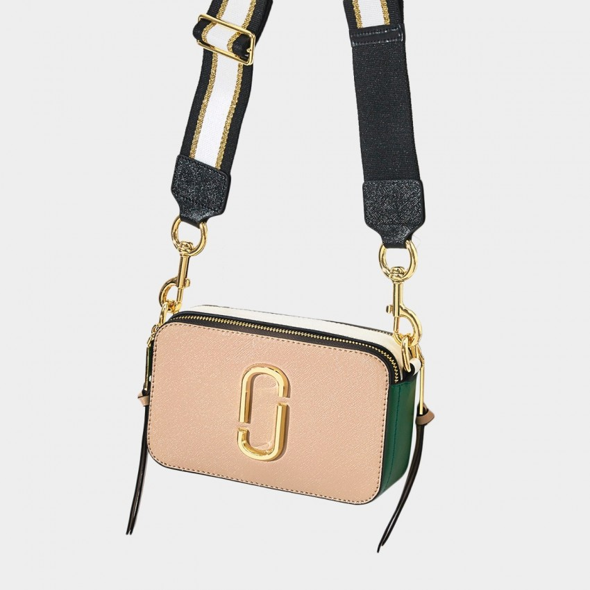 Cilela Colour Block Apricot Shoulder Bag (CR0313S)