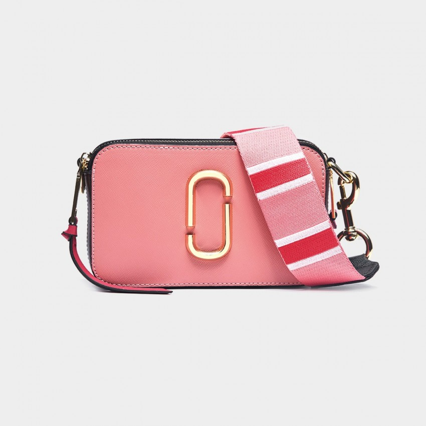 Cilela Colour Block Peach Shoulder Bag (CR0313S)