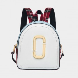 Cilela Chic Hoop White Backpack (CR0515)