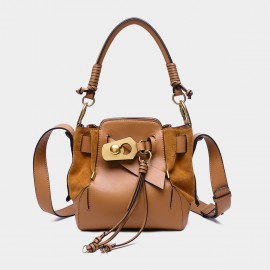 Cilela Bucket Brown Top Handle (CR0812)