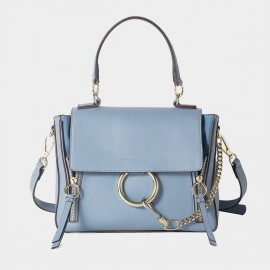 Cilela Ring Loop Blue Shoulder Bag (CR0815)