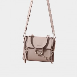 Cilela Ring Loop Grey Shoulder Bag (CR0815)