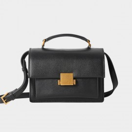 Cilela Simple Black Shoulder Bag (CR0918)