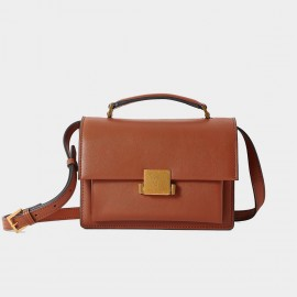 Cilela Simple Brown Shoulder Bag (CR0918)