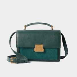 Cilela Simple Green Shoulder Bag (CR0918)