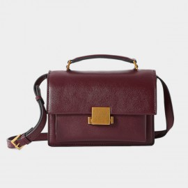 Cilela Simple Wine Shoulder Bag (CR0918)