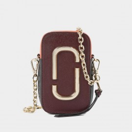 Cilela Chic Hoop Claret Shoulder Bag (CR1023)