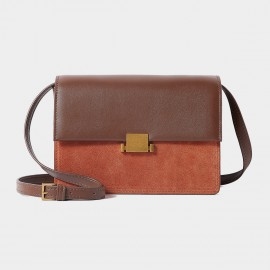 Cilela Double Hue Brown Shoulder Bag (CR1101)