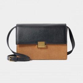 Cilela Double Hue Camel Shoulder Bag (CR1101)
