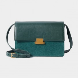 Cilela Double Hue Green Shoulder Bag (CR1101)