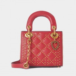 Cilela Diamond Rivet Red Top Handle (CR1201S)