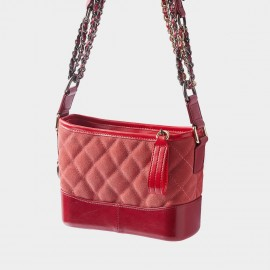 Cilela Diamond Tufted Tassel Red Shoulder Bag (CR2523L)