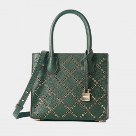 Cilela Diamond Studded Green Tote (CR3618S)