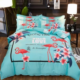 AIX Fleming Love Green Bed Linen (YGM17020)